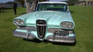 58 Edsel Wedding Car 2