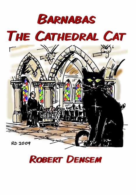 Barnabas the Cathedral Cat